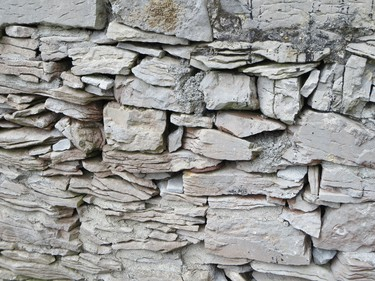 Closeup of a limestone wall at Inishmore, the largest of the Aran Islands in Ireland's Galway Bay. LANCE HORNBY/TORONTO SUN