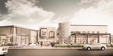 Renderings of Outlet Collection Winnipeg, which is slated to open in May 2017. A groundbreaking ceremony was held on the site on Sept. 25, 2015. (SUPPLIED IMAGES)