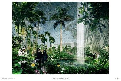 A tropical biome is part of Assiniboine Park Conservancy's $70-million plan for further upgrades at the Winnipeg park. Plans for the next phase of upgrades were revealed on Sept. 25, 2015. (ASSINIBOINE PARK CONSERVANCY IMAGE)
