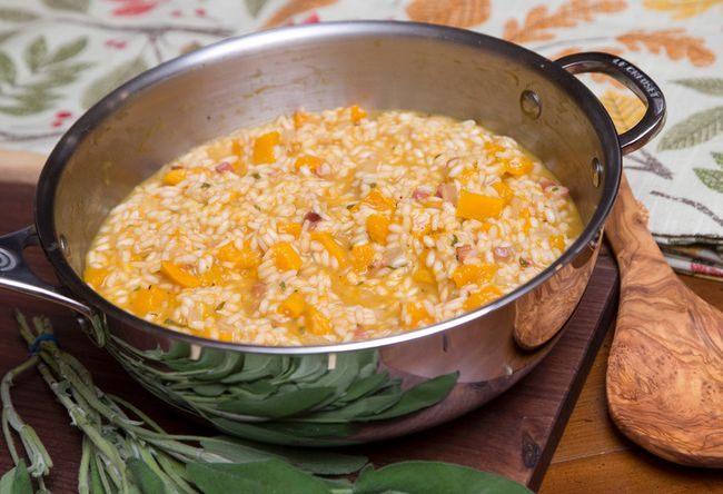 Squash Risotto with Sage (CRAIG GLOVER, The London Free Press)