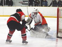 League MVP Steve Christie is expected to return to between the pipes for Carman. (FILE/CARMAN VALLEY LEADER)