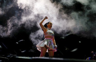 6. Katy Perry The Firework singer is 14.86% dangerous. REUTERS/Pilar Olivares