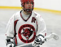 Wallaceburg's Jordan Durston played six junior 'B' lacrosse seasons with his hometown Red Devils. (Daily News File Photo)