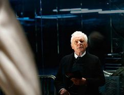 "Anthony Hopkins in ""Westworld."""