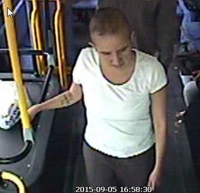 Winnipeg police are looking for this suspect in connection with a series of unrelated muggings. Police released photos of suspects on Oct. 1, 2015. (WINNIPEG POLICE HANDOUT PHOTO)