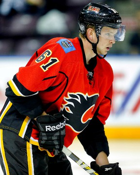 Stony Plain's Brett Kulak is in line to start this season off in the NHL with the Calgary Flames. - Postmedia Network