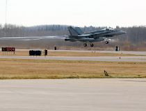 CF-18 fly-by at RedBlacks surprises neighbours