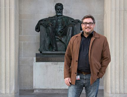 Brantford Mayor Chris Friel says he is not surprised that area residents are most proud to be Canadian, according to a Statistics Canada survey. The mayor says the city needs to do a better job of sharing its history, including reclaiming its connection to Alexander Graham Bell. (Brian Thompson/The Expositor)