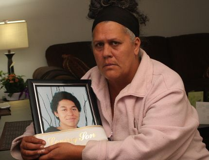 'He was still just a boy' grieving mom says