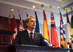 Minister of Citizenship and Immigration Chris Alexander speaks to the media about Canada's plan to provide faster help for Syrian and Iraqi Refugees wishing to come to Canada during a press conference in Toronto on Sept. 19, 2015. (The Canadian Press/Aaron Vincent Elkaim)