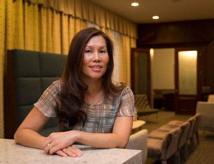 Twee Brown says she can relate to the ongoing Syrian refugee crisis because her grandparents were living in Vietnam in the late 1970s and arrived in Canada as part of the flood of post-war boat people, along with her parents. (CRAIG GLOVER, The London Free Press)