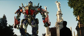 """An image still from the movie """"Transformers Revenge of the Fallen"""" (2009). (Courtesy of Paramount Pictures)"""