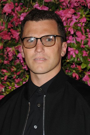 Former NHLer Sean Avery poses for a photo at the Chanel Artists Dinner during the 2013 Tribeca Film Festival in New York on April 25, 2013. (WENN.com)
