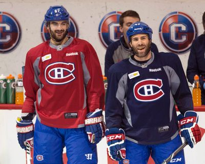 """<p>MONTREAL CANADIENS</p>  <p>2014-15 record: 50-22-10, 110 points, 1st in Atlantic Division, 2nd in East, Beat Ottawa in CQF, lost to TB in CSF in 6 games.</p>  <p>The skinny: The search goes on for goals to balance the game's best stopper in Carey Price. The Habs also boast one of the top blue-liners in P.K. Subban, as the second pillar of the league's stingiest defence. If there is a move for a proven sniper, it might not come until the trade deadline. In the meantime, newcomers Alexander Semin and Zack Kassian will have to do.</p>  <p>Key player: """"Carey, Carey"""" chants aren't about to diminish at the Bell Centre as Price attempts back-to-back 40-win seasons. He also wants to keep all that hardware he took home on the last awards night. </p>  <p>Burning question: How will Max Pacioretty fare as the new captain? Such moves are scrutinized heavily in this town and there was quite a build-up to this decision.</p>"""
