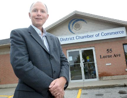 Stratford and District Chamber of Commerce CEO Brad Beatty. (Beacon Herald file photo)
