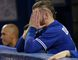 Blue Jays third baseman Josh Donaldson watches from the dugout in the 11th inning against the Rangers during Game 2 of the American League Division Series in Toronto on Friday, Oct. 9, 2015. (Craig Robertson/Postmedia Network)