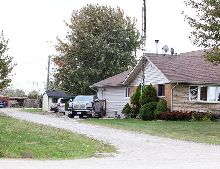 Three people arrested at this rural property on Morris Line, west of Chatham, on Friday during a joint Chatham-Kent police and Ontario SPCA probe into an alleged dog-fighting ring are expected to face additional charges. John Robert, 43, Kim Robert, 39, and Michel Gagnon, 41, were charged with animal cruelty and firearm offences.Photo taken on Tuesday October 13, 2015 in Chatham, Ont. (Vicki Gough/Chatham Daily News/Postmedia Network)