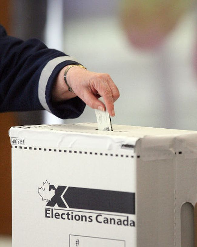 An Elections Canada ballot box. Postmedia file.