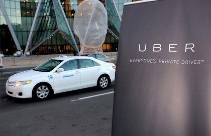 Uber launch taxi