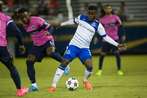 FC Edmonton held the lead until late in the second half of Saturday's game in Jacksonville. (Supplied)