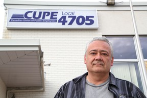 Darryl Taylor, president of CUPE Local 4705, which represents unionized workers at the City of Greater Sudbury, told The Star on Monday that layoff notices were issued last week and that more are imminent. John Lappa/Sudbury Star/Postmedia Network