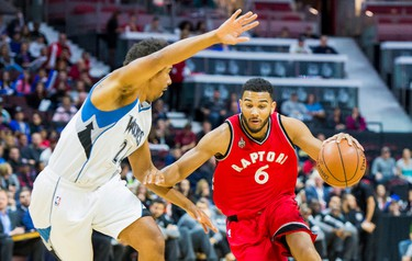 CORY JOSEPH Skinny: Impressed as fill-in for Tony Parker with Spurs, as leader of Team Canada and in D-League and now gets a chance for bigger NBA role. Will both backup Kyle Lowry and share backcourt with him at times in smaller lineups. Excelled in pre-season and should turn heads. Can improve: Jump shot, which lacks consistency. Contract status: $7 million, then $7.3/$7.6 million guaranteed and then a $7.9-million player option.