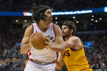 LUIS SCOLA Skinny: Raptors know what they'll get from veteran — scoring from the blocks, rebounding, savvy play and good defensive positioning. Patterson's struggles likely make Scola the starter and his passing ability should work well alongside Jonas Valanciunas, though things might get crowded in the low post. Coming off another dominant summer performance for Argentina. Can improve: Outside shooting and defensive quickness, in a perfect world, but unlikely at this point. Is what he is: Solid. Contract status: $2.9 million, then unrestricted free agent.