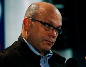 Peter Chiarelli plans to give the Oilers 10 more games before he starts making moves. (Tom Braid, Edmonton Sun)