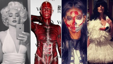 Can't figure out what to be for Halloween? Get some model inspiration. Here are a few of our favourite costumes from some of our favourite models.