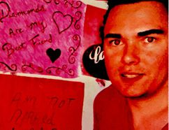 """""""Your opinion means absolutely nothing to me,"""" reads one of Luka Magnotta's homemade inspirational posters on the wall of his prison home of Archambault Institution in Quebec."""
