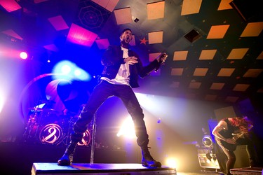 American metalcore band Of Mice & Men performs earlier this year at the Barrowland Ballroom. Also called Barrowlands, the enormous club is one of Glasgow's legendary music venues. Peter Kaminski/WENN.com