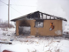 A two-month-old died in a house fire in St. Theresa Point, Manitoba on Jan. 16, 2011.