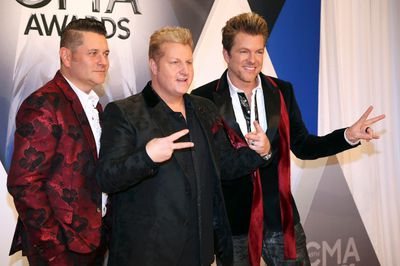 Rascal Flatts arrives at the 49th Annual Country Music Association Awards in Nashville, Tennessee November 4, 2015.  REUTERS/Jamie Gilliam