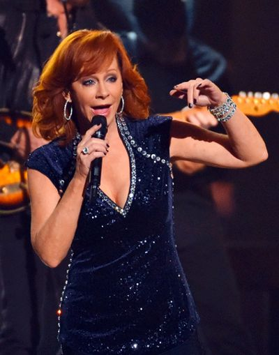 Reba McEntire performs a medley of songs at the 49th Annual Country Music Association Awards in Nashville, Tennessee November 4, 2015.  REUTERS/Harrison McClary