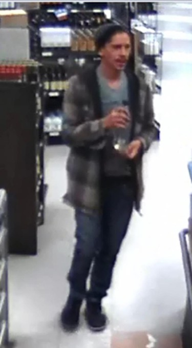 Colten Pratt, from surveillance images, in the last clothes he was seen wearing.