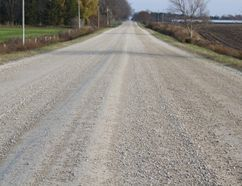"Council has requested staff to bring back a report on Summerhill Road. Councillor Marg Anderson brought the issue to council's attention on Nov. 2. She said the road was in ""rough shape"" and needed some construction work. (Laura Broadley/Clinton News Record)"