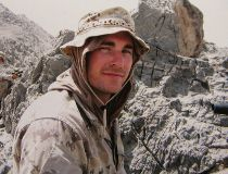 Jody Mitic in Afghanistan. (Supplied)