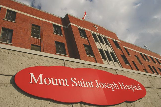 Mount Saint Joseph Hospital only has about half of its emergency beds equipped with vital sign monitors, and its current ultrasound machine is simply unusable in the operating room because it's too big.