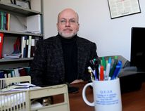Emily Mountney-Lessard/The Intelligencer Orlando Ferro, executive director of Quinte United Immigration Services, is shown here in his Belleville office.