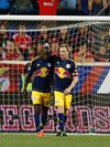 The New York Red Bulls will take on Columbus Crew in the Eastern Conference Final.  (AP Photo/Rich Schultz, File)