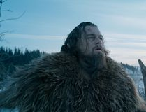 "Leonardo DiCaprio as Hugh Glass, in a scene from the film, ""The Revenant,"" directed by Alejandro Gonzalez Inarritu. (Courtesy Twentieth Century Fox)"