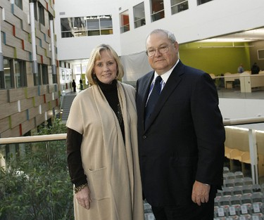 The University of Winnipeg is moving forward with a $4.75-million addition to Wesley Hall and the Collegiate, thanks to a sizable donation from a former alumni.  Douglas and Louise Leatherdale (shown) donated $2.5 million towards the expansion, which will be known as Leatherdale Hall.
