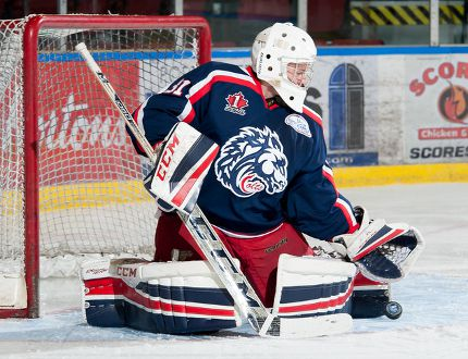 <p>Goalie James Edwardson, in action with the Jr. A Colts earlier this month, has been traded by the organization, and will join the league-leading Carleton Place Canadians, on Wednesday November 25, 2015 in Cornwall, Ont. Robert Lefebvre/Special to the Cornwall Standard-Freeholder/Postmedia Network