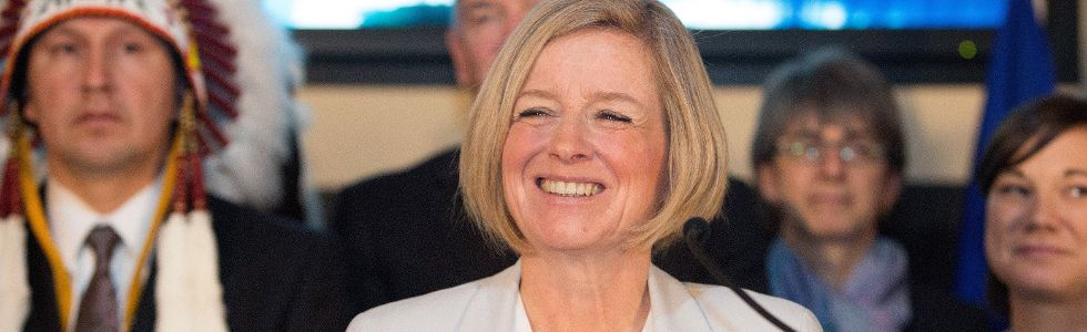 notley calgary climate emissions