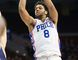 Rookie 76ers centre Jahlil Okafor was allegedly in a street fight in Boston early Thursday morning. (Bill Streicher/USA TODAY Sports)