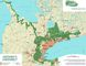This map shows the existing Greenbelt in Ontario. Brant County council is opposing a provincial push to expand the Greenbelt into the region. (File)