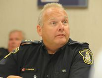 Brockville police chief Scott Fraser says the police service and the city are looking are the possibility of creating a reserve fund.