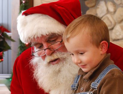 Santa Claus will make a number of appearances during Gimli's Rediscove