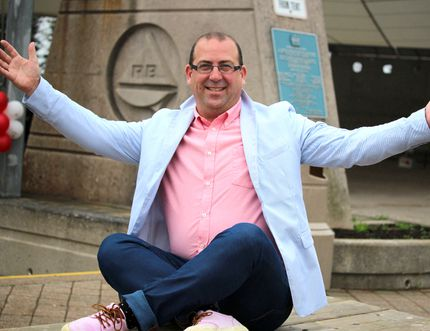 Brent Millard, owner of PInk Chandelier, took part in an event in Toronto and Ottawa that inspired his fashion extravaganza in Sault Ste. Marie.