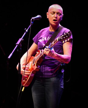 Sinead O'Connor performs at the Barbican Centre in London in this file photo. (Danny Clifford/Hottwire.net/WENN.COM)